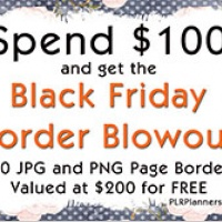 Black Friday Border Blowout