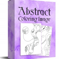 Abstract Coloring Images