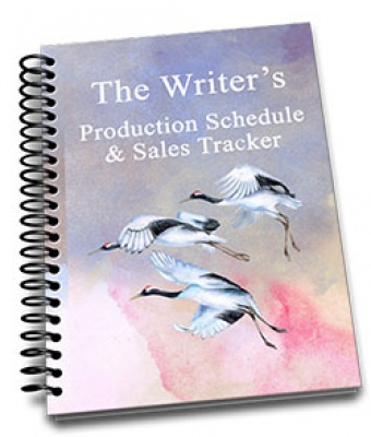 Writer's Production Schedule and Sales Tracker