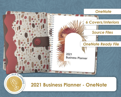 2021 Business Planner - OneNote